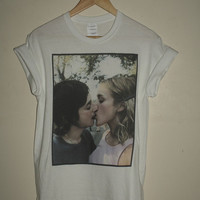 brand new * 90s iconic Chloe Sevigny Harmony Korine Kissing T-shirt Cult Hipster Gummo*  Available in Small, Medium, Large or XL.