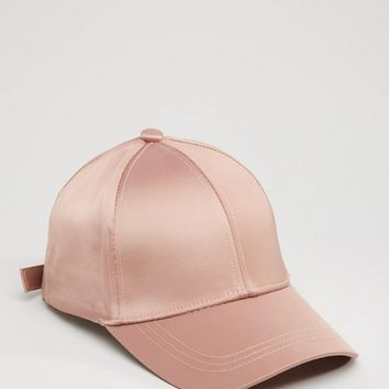 River Island Satin Cap at asos.com