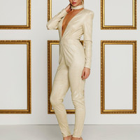 Meiray Gold Jumpsuit