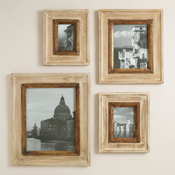 Gold and Natural Leo Wall Frames - World Market