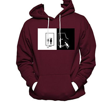 Harry Potter Ravenclaw MEN WOMEN UNISEX PULLOVER FUNNY GRAPHIC HOODIE - Maroon