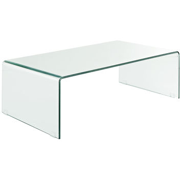 Transparent Coffee Table in Clear