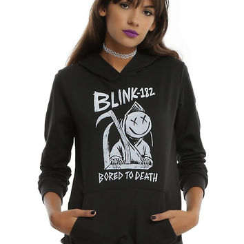 Blink-182 Bored To Death Girls Hoodie