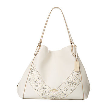 COACH Mini Stud Edie Shoulder