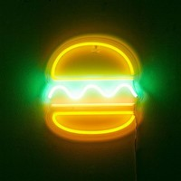 Hamburger Neon Sign | Urban Outfitters