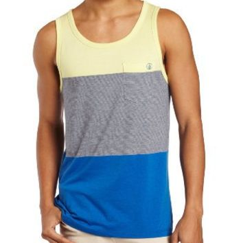 Volcom Men's Blakely Tank, Citron, Medium