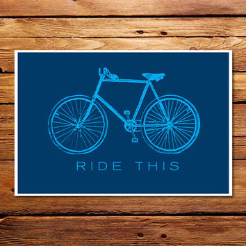 Ride This Poster