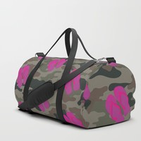 I saw Cady Heron wearing army pants and flip flops ... - quote from Mean Girls Duffle Bag by allier