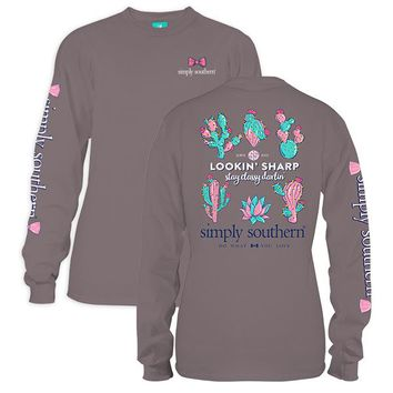 "Youth Simply Southern Long Sleeve Tee - ""Sharp"""