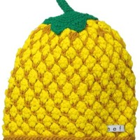 Neff Women's Fruit Beanie, Pineapple, One Size