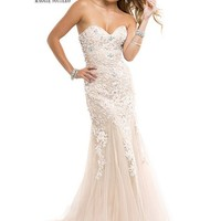 Flirt by Maggie Sottero P4881 Lace Evening Gown