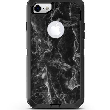 Smooth Black Marble - iPhone 7 or 8 OtterBox Case & Skin Kits