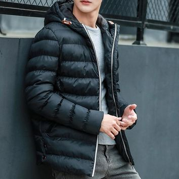 The North Winter Men Jacket Brand Casual Mens Jackets And Coats Thick Parka Men Outwear 4XL Jacket Male Clothing Face