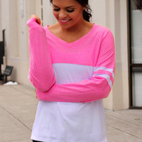 Show Your Spirit Top - Pink