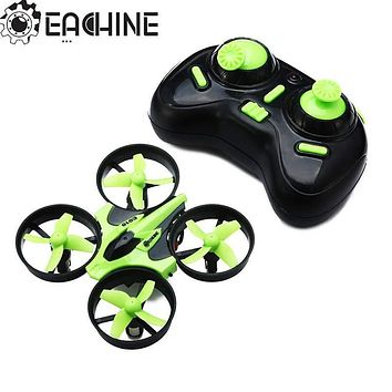 Eachine E010 Mini 2.4G 4CH 6 Axis 3D Headless Mode RC Helicopter Quadcopter RTF RC Tiny Gift Present Kid Toys VS JJRC H36