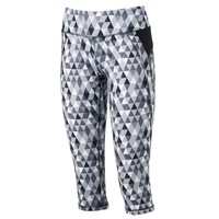 Tek Gear Printed Yoga Capri Leggings - Women's