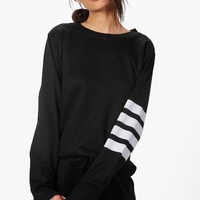 Julia Fit Running Sweat Top | Boohoo