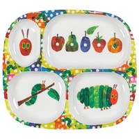 The Very Hungry Caterpillar Divided Plate | AlexandAlexa