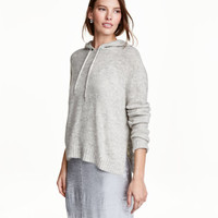 H&M Knit Hooded Sweater $34.99