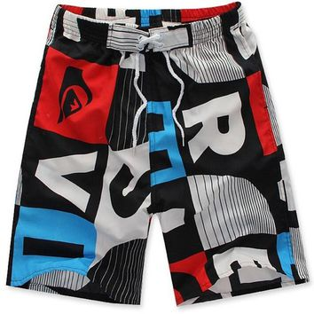 2017 Mens Shorts Casual Summer Fashion Bermudas Masculina de Marca Print Beach Shorts Men Boardshorts Plus Size Brand Clothing