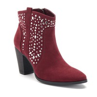 Jennifer Lopez Women's Studded Ankle Boots