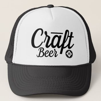 Craft Beer Hops Trucker Hat