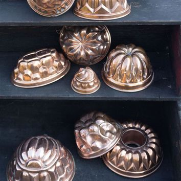Vintage Copper Baking Mold