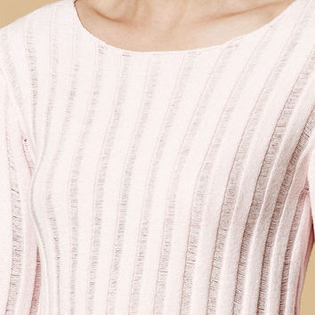 Honey Punch Ribbed Cropped Sweater Top at PacSun.com
