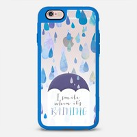 I Smile When It's Raining iPhone 6s case by Noonday Design | Casetify