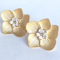 Aloha Earrings Gold
