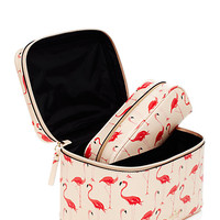 Kate Spade Cedar Street Flamingos Large Natalie Shell Pink ONE