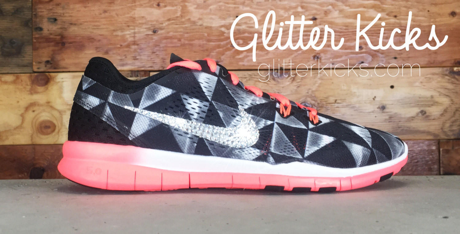 Nike Free Run TR Fit 5 - Crystallized from Glitter Kicks  bcbf5a5dbe77