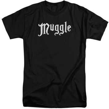 Harry Potter - Muggle Short Sleeve Adult Tall Shirt Officially Licensed T-Shirt