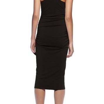Michael Stars Racerback Midi Dress (Regular & Petite) | Nordstrom