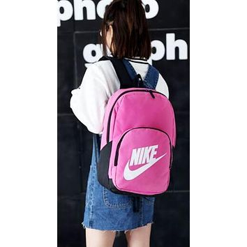 NIKE Fashion Sport School Laptop Shoulder Bag Travel Bag Satchel Backpack