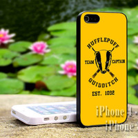 Harry potter slytherin quidditch team captain-iPhone 4/4s, iPhone 5, 5s, 5c, iPod 4, iPod 5, Samsung Galaxy s3, s4 Case