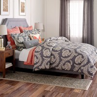SONOMA life + style Pembrook 3-pc. Comforter Set - Cal. King (Grey)