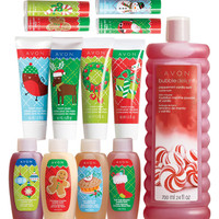 Avon: 13-Piece Holiday Bath & Body Hot Deal
