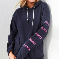 Silence + Noise Peace Hoodie Sweatshirt | Urban Outfitters