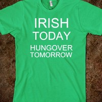 Irish today, hungover tomorrow - The Kay Designs