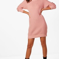 Tall Hollie Soft Knit Jumper Dress | Boohoo
