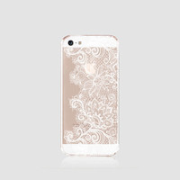 iPhone 6s Case Clear White Lace iPhone 6s Plus Case TPU iPhone 6 Plus Clear Lace iPhone Case iPhone 6 Case Wedding iPhone Case Samsung S6