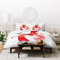 CMYKaren Lobster Duvet Cover