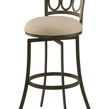 Impacterra Piccard Swivel Stool 26 Counter Height