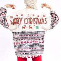 Merry Ugly Christmas Sweater