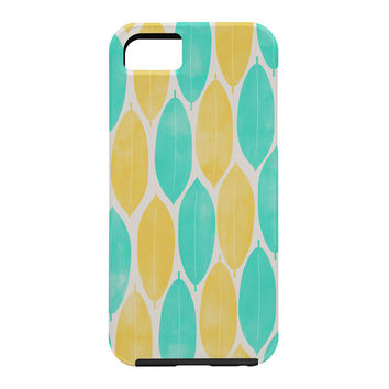 Allyson Johnson Summer Leaves Cell Phone Case