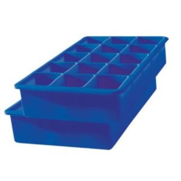 Tovolo Perfect Cube Ice Trays, Stratus Blue, Set of 2: Amazon.ca: Home & Kitchen