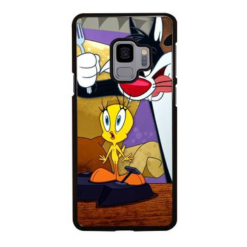 SYLVESTER AND TWEETY Samsung Galaxy S9 Case