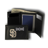 San Diego Padres MLB Embroidered Trifold Wallet