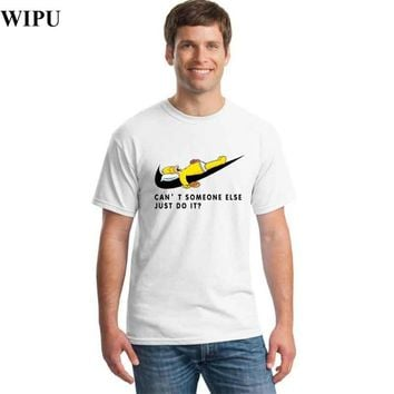 CANT SOMEONE ELSE JUST DO IT T ? NIKE Copy funny t shirts